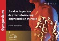 Symposium - Hemochromatose Vereniging Nederland