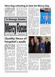 A4 MercyFocus Sept9.pub - Sisters of Mercy of Aotearoa New Zealand