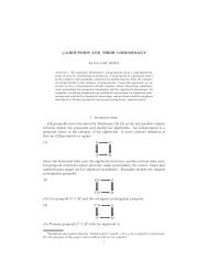 Q-GROUPOIDS AND THEIR COHOMOLOGY 1. Introduction LA ...