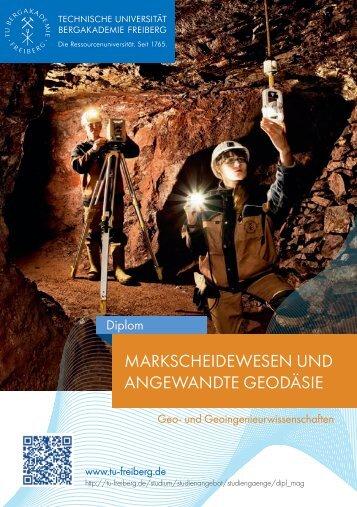 Markscheidewesen und Angewandte Geodäsie