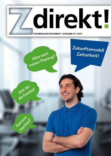 Z direkt!   Ausgabe 01   2015