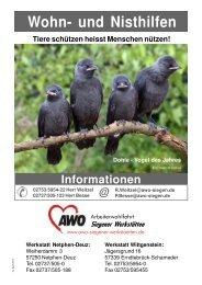 Vogelschutz Warum Nistkästen? - AWO Kreisverband Siegen ...