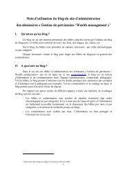 Note d'utilisation du blog du site d'administration des séminaires ...