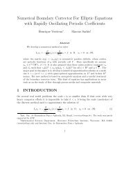 Numerical Boundary Corrector For Elliptic Equations with Rapidly ...