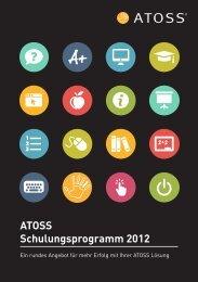 ATOSS Schulungsprogramm 2012 - Atoss AG