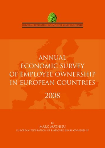 annual economic survey of employee ownership in european ...