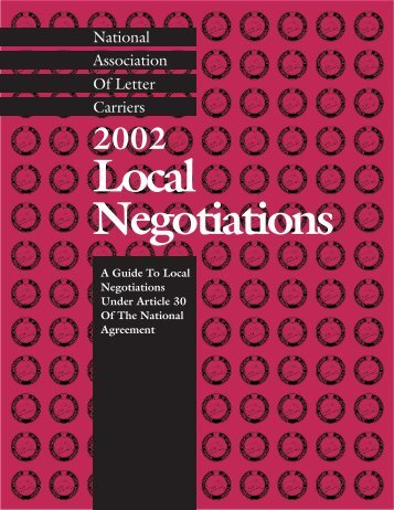 2002 Local Negotiations - Branch 3825