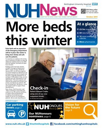More beds this winter