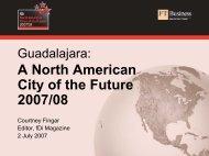 Guadalajara: A North American City of the Future 2007/08 - Unido
