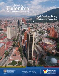 Legal Guide to Doing Business in Colombia - Unido