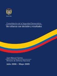 Consolidacion de la Seguridad Democratica. Un ... - ccai-colombia.org