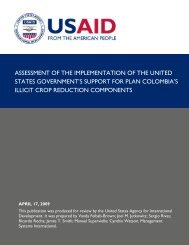 ASSESSMENT OF THE IMPLEMENTATION OF THE UNITED ...