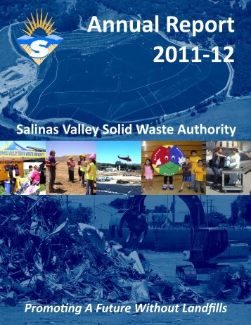 2011-12 Annual Report - Salinas Valley Solid Waste Authority