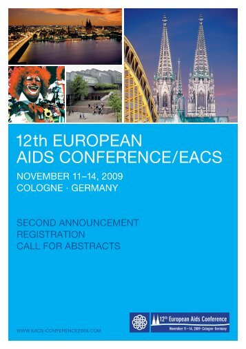 12th EuropEan aIDS ConfErEnCE / EaCS