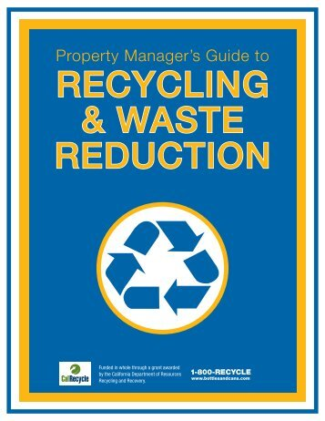 Multifamily Recycling Resource Kit for Managers - Ecology Action