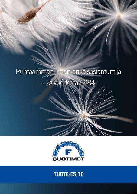 Lataa tuote-esite (PDF) - F-Suotimet Oy