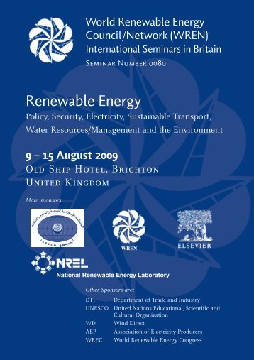 Renewable Energy - World Renewable Energy Congress / Network ...