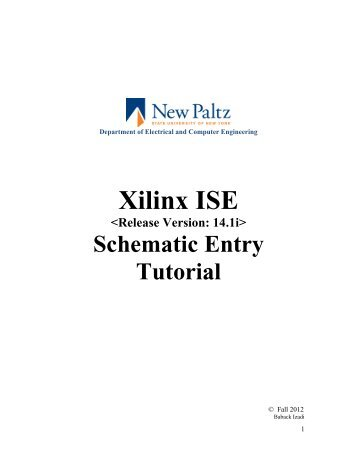 Tutorial digilent s3 schematic ise 8. 1 | double click | electronic.