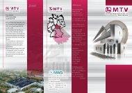 The company MTV Cutting-Edge GmbH & CO. KG MTV CUTTING ...