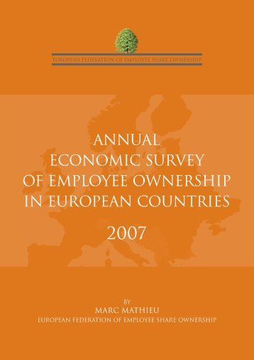 Annual Economic Survey of Employee Ownership in European