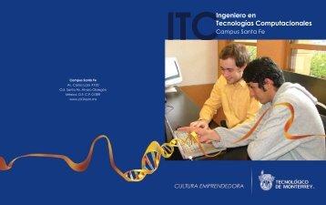 FOLLETO ITC02 - Santa Fe - Tecnológico de Monterrey