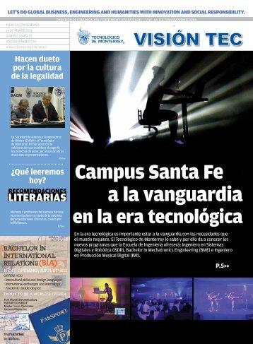 Visión Tec - Santa Fe - Tecnológico de Monterrey
