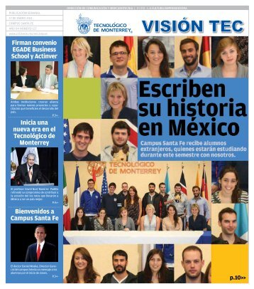 Visión 122 - Santa Fe - Tecnológico de Monterrey