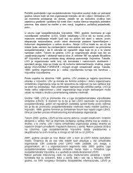 Istorijat - Liga socijaldemokrata Vojvodine