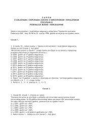 Zakon o izmjenama i dopunama Zakona o mirovinskom i ...