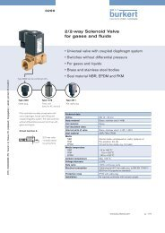 2/2-way Solenoid Valve for gases and fluids