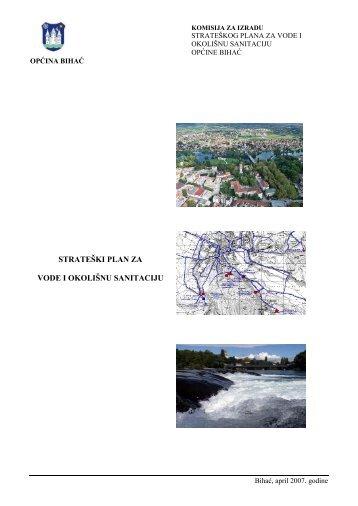 strateški plan za vode i okolišnu sanitaciju - Resursni centar za vode ...