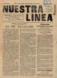 Nuestra Línea del  27 de julio de 1925
