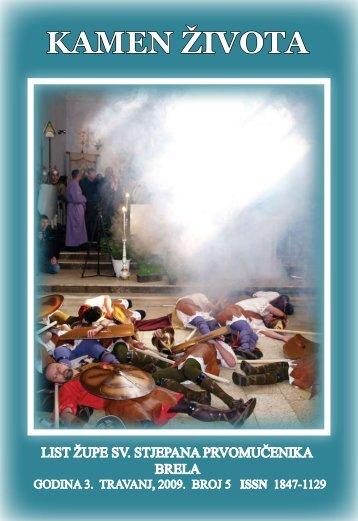 Kamen života Uskrs 2009. broj 5 - Općina Brela