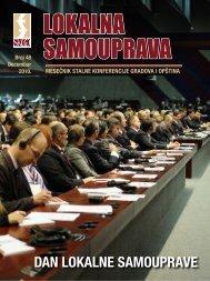 dan lokalne samouprave - Stalna konferencija gradova i opština