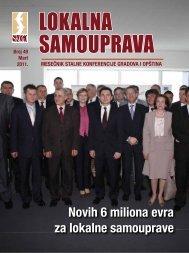 Novih 6 miliona evra za lokalne samouprave - Stalna konferencija ...