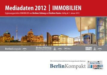 Mediadaten 2012 | IMMOBILIEN - Berliner Kurier