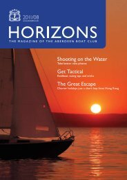 Aug 2011 Issue - the Aberdeen Boat Club
