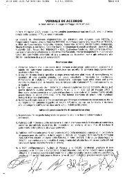 ' VERBALE DI ACCORDO - Fisascat