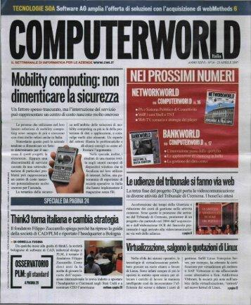 Diventare mobili senza dimenticare la sicurezza (Computerworld)