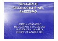 Scarica la presentazione di Angela Costabile - Unicef