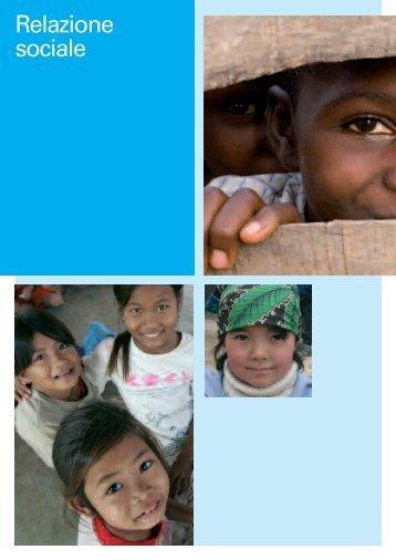 Relazione sociale (stakeholder interni) - Unicef