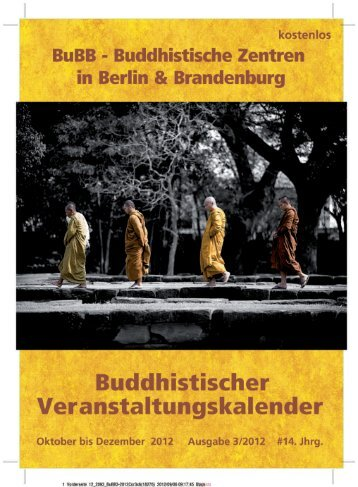Anzeige/Download - Buddhismus in Berlin