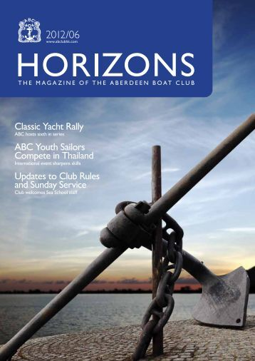 June 2012 Issue - the Aberdeen Boat Club