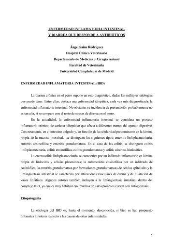 Enfermedad inflamatoria intestinal - Avepa