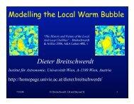Day2_Talk03_Breitsch.. - Local Bubble & Beyond II