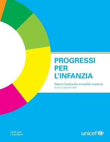 Progressi per l'infanzia n.7 - Unicef