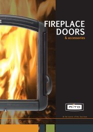 FIREPLACE DOORS - Narvi Oy