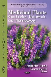 Medicinal Plants Classification Biosynthesis and ... - Index of