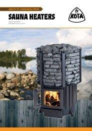 Sauna heaters - Narvi Oy