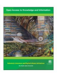 Open Access to Knowledge and Information - Unesco